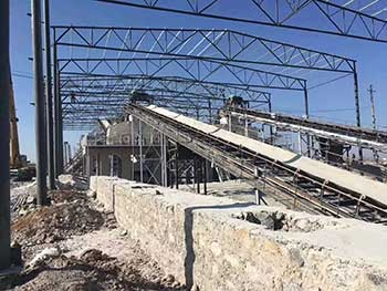 Fertilizer Belt Conveyor Classfications Structural