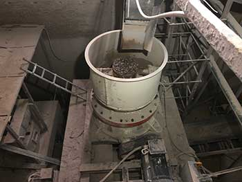 strong crushing force rock cone crusher used for sale