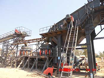 secondary crusher machines hp