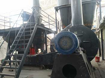 powder coating grinding mill and extruder