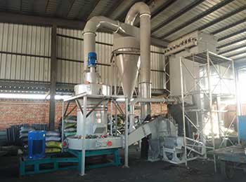 grinding mill and powder making plant