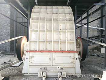 hammer crusher operation