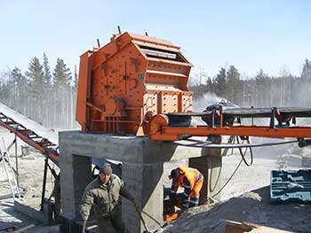 Copper Mining Equipment With 60120Tphpf Impact