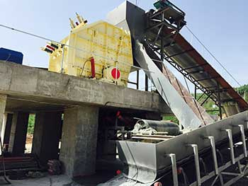 building material impact crusher machine