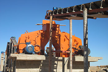 duoling good quality ore impact crusher hzs75 fully