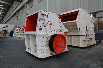 duoling good quality ore impact crusher high output