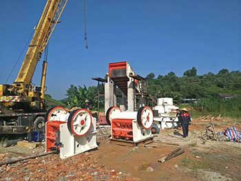 Ballast Jaw Crusher