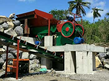high efficiency mining 5 500 t h jaw crusher