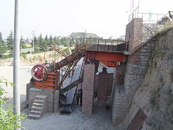 12002A1500 Jaw Crusher In Italy