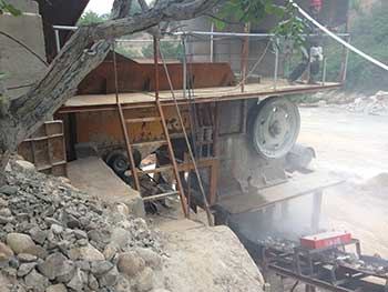 100X60 Mini Jaw Crusher For Rock Ore Slag Steel Slag Coal
