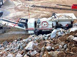 second hand stone crusher machine in india