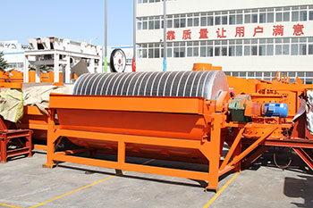 Wet Drum Magnetic Separator Roll belt magnetic separator