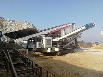 portable iron ore crusher for hire in india