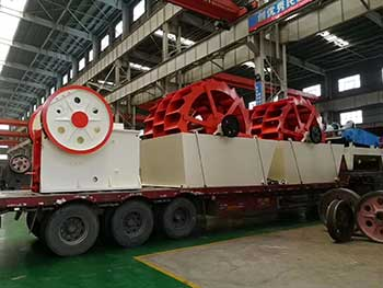used track crusher plant