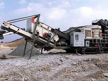 low cost mobile crushers