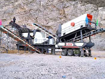 Mobile Crusher 12000 Tons