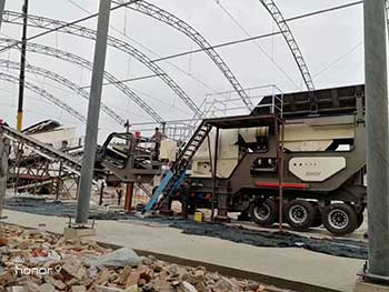 Mobile Crushing Plantftm Machinery