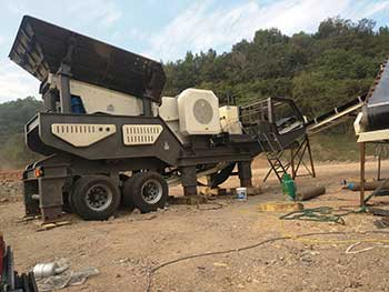 Used Portable Crushing Plant For Sale Philippines Rock