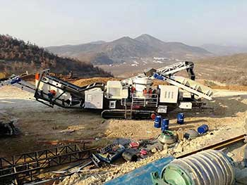 Mobile Crushing Station Shandong Shangda Machinery Co