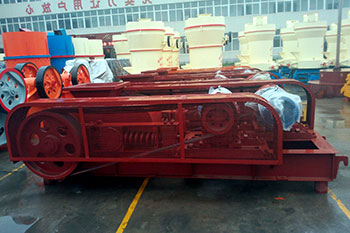 roller crusher hardfacing