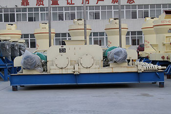 toothed double roll crusher for to