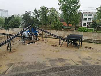 Kemco Dry Sand Making Plant For Cement Companies
