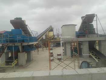 Another High Quality Sand Production Line By Dry Sand