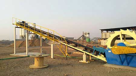 Working Process Of Ore Washing Plant