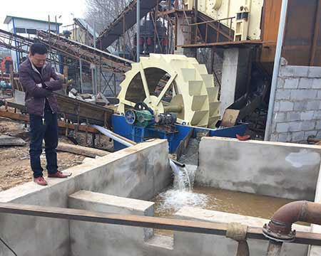 sand washing plant with hydrocyclone