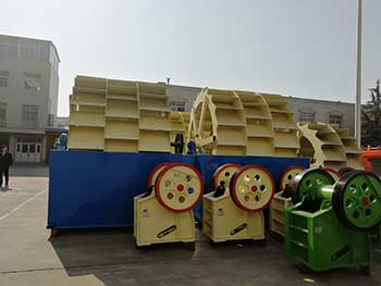 slurry management in sand washing in china