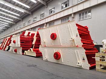 hsm professional best price barite powder vibrating screen