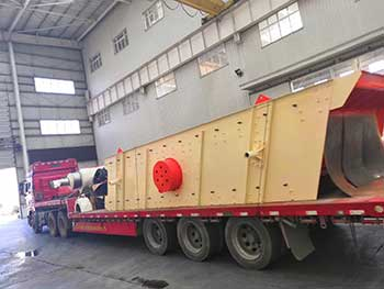 vibrating screen for all kinds of sands and stones